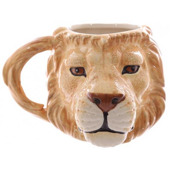 Koffie beker leeuw 400 ml