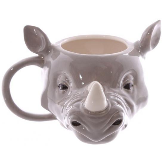 Koffie beker neushoorn 400 ml