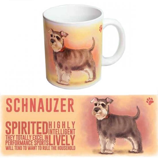 Koffie beker Schnauzer hond