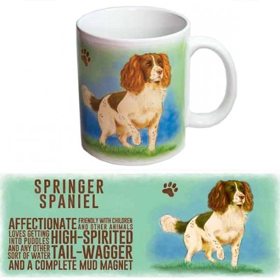 Koffie beker Springer Spaniel hond