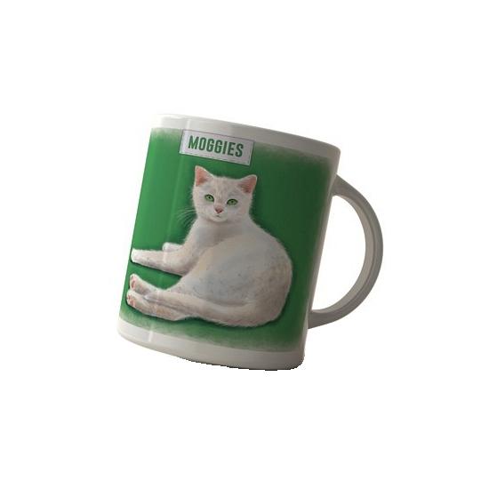 Koffie beker witte kat