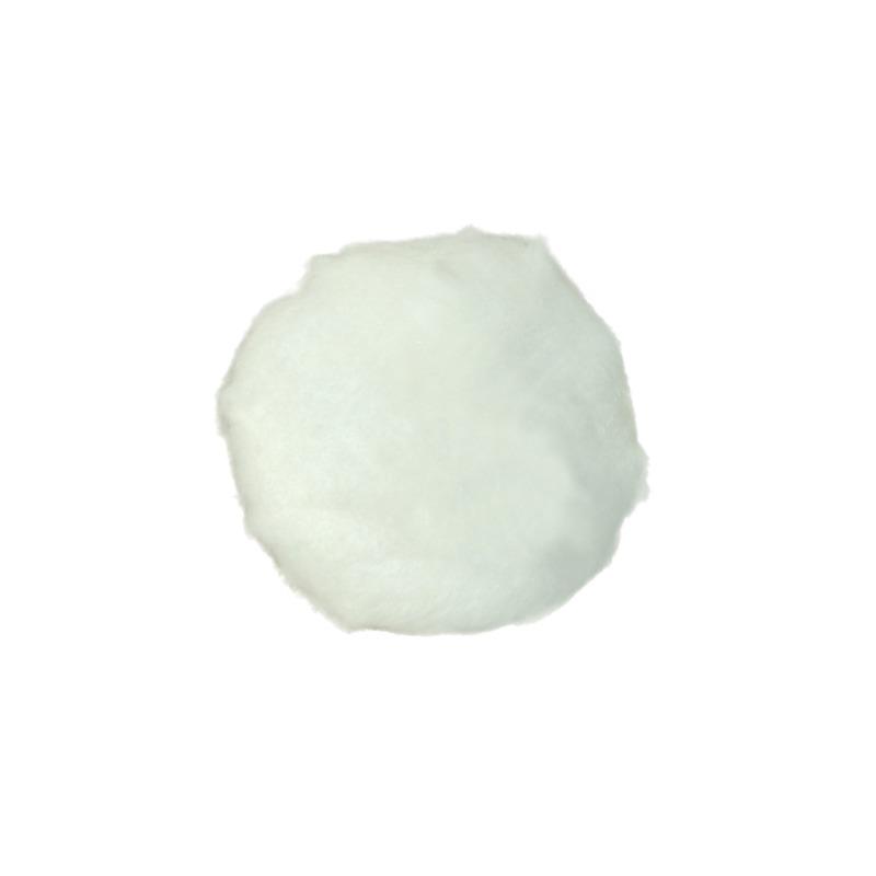 Konijn/haas verkleed staart wit