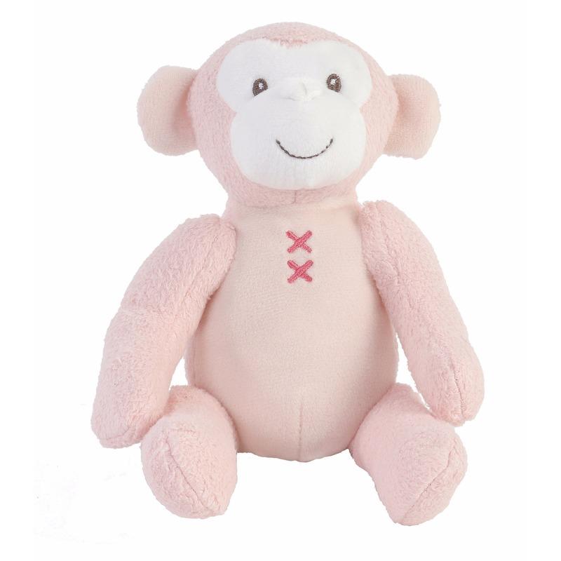 Afbeelding Kraamkado knuffel aap Marly 17 cm door Animals Giftshop