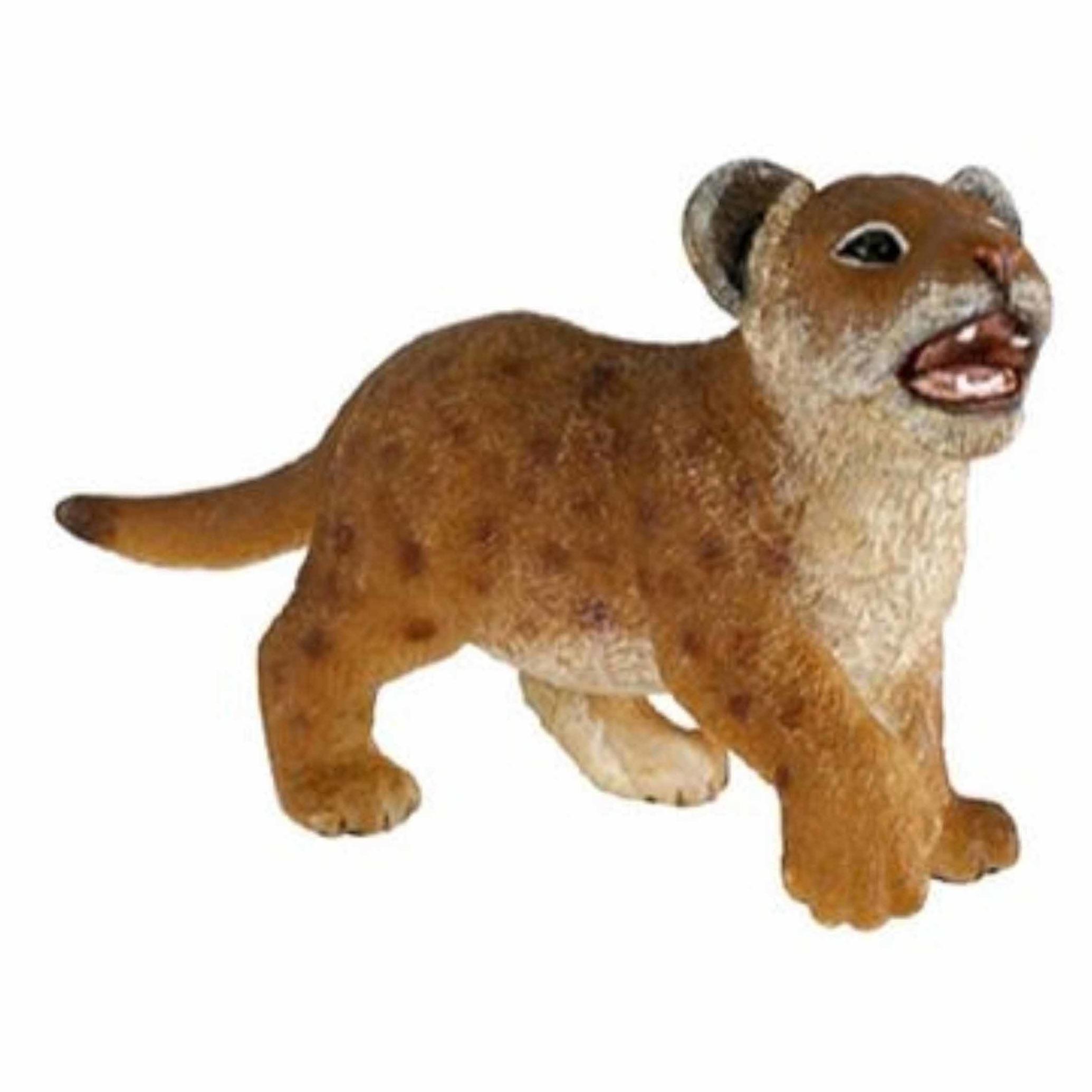Leeuwen welpje speeldiertje 7 cm