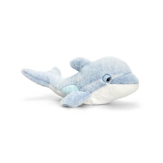 Liggende dolfijn knuffeldier 35cm