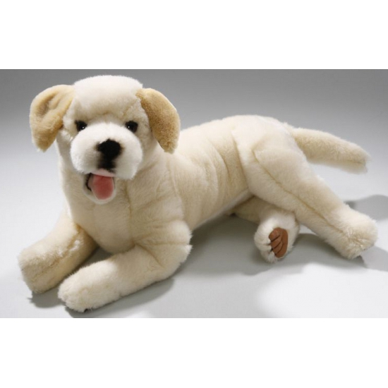 Afbeelding Liggende knuffel labrador 36 cm door Animals Giftshop