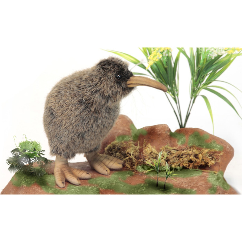 Luxe kiwi knuffel 28 cm