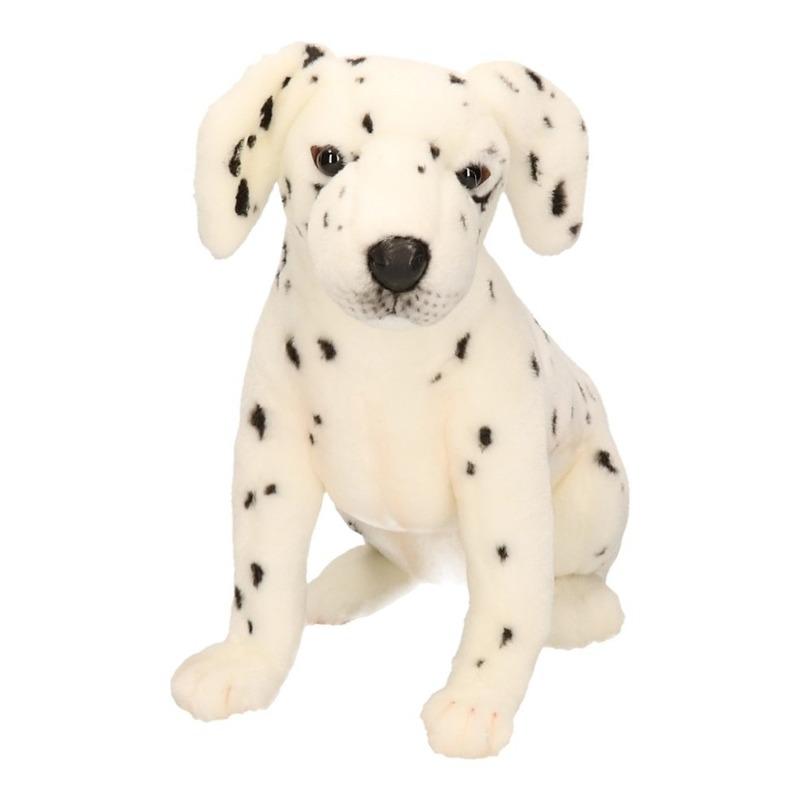Luxe pluche dalmatier pup 26 cm