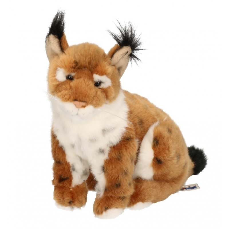 Afbeelding Lynx knuffeldier 25 cm door Animals Giftshop