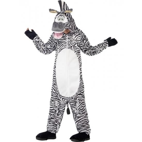 Madagascar zebra kostuum Marty