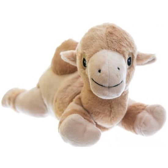 Magnetron knuffel kameel 18 cm
