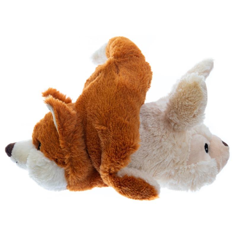 Magnetron knuffel konijn/vos 2-in-1 23 cm