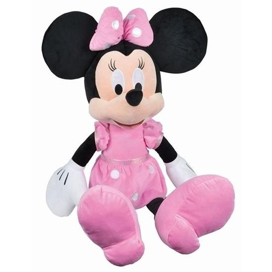 Mega pluche Minnie Mouse knuffels 80 cm