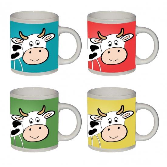 Mok met koeien print
