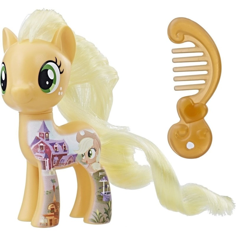 My Little Pony Movie speeltje Applejack 8 cm