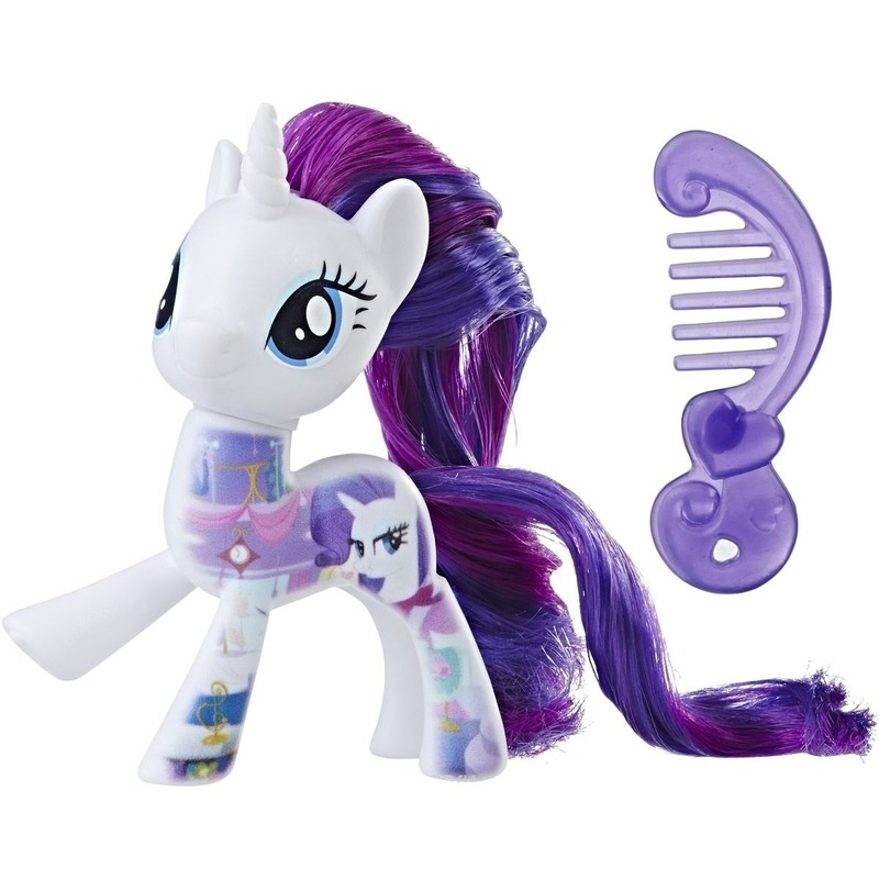 My Little Pony Movie speeltje Rarity 8 cm