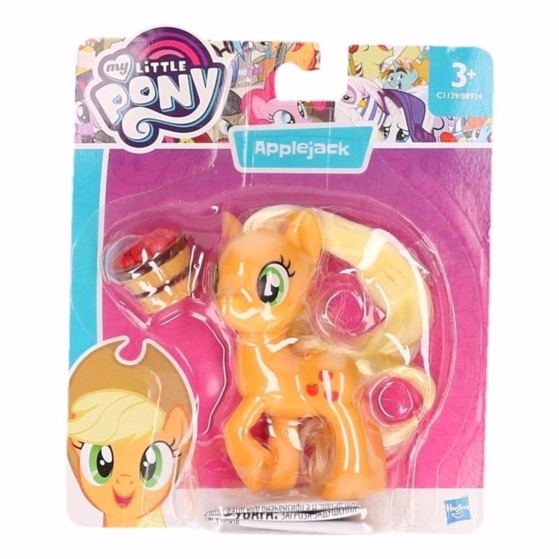 My little pony plastic speeltje Applejack 8 cm
