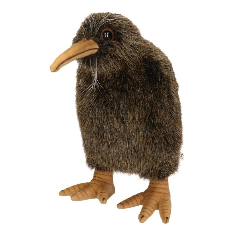 Nieuw Zeelandse pluche kiwi 20cm
