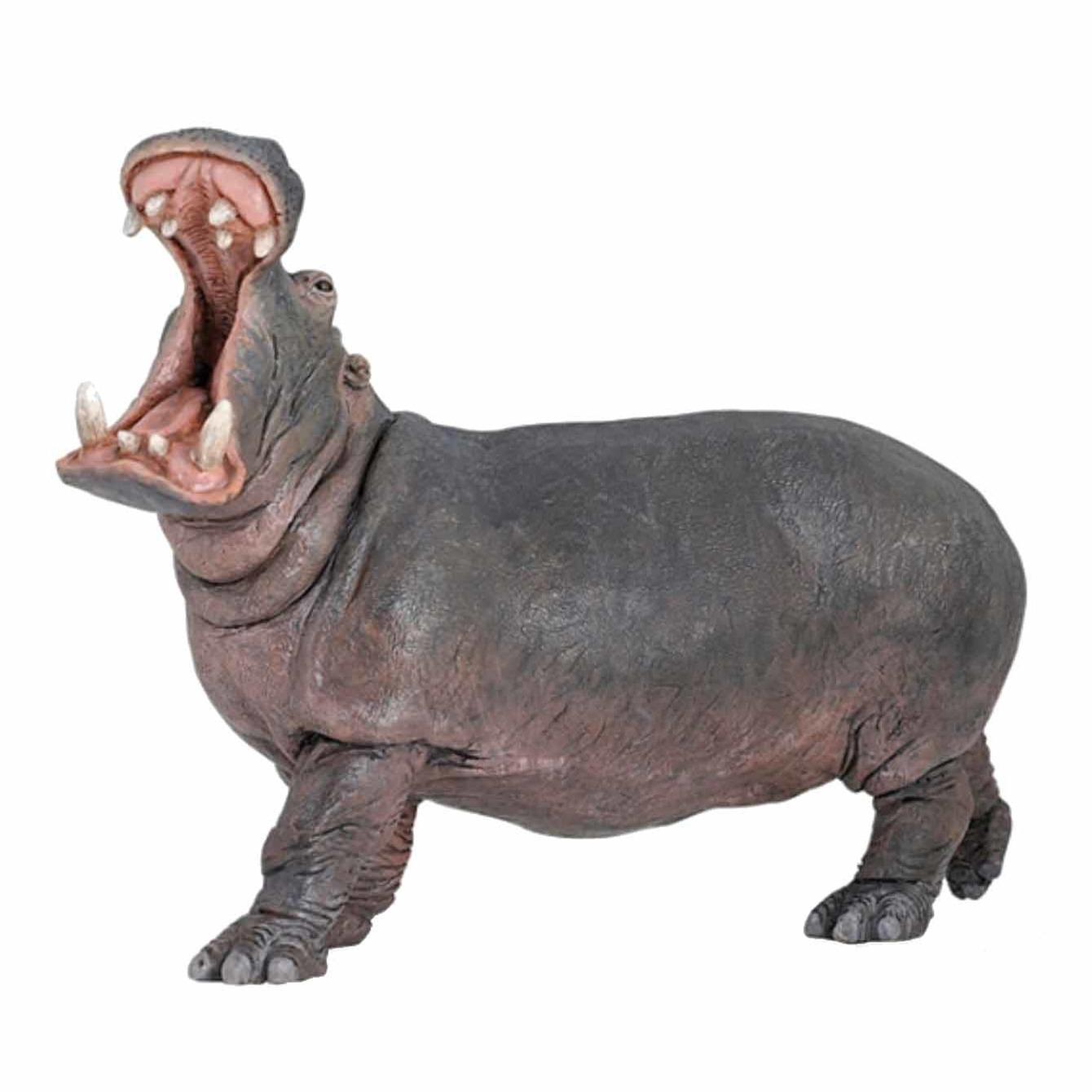 Nijlpaard speeldiertje 15 cm