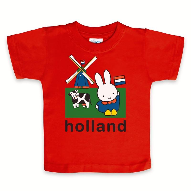 Nijntje baby t-shirt rood
