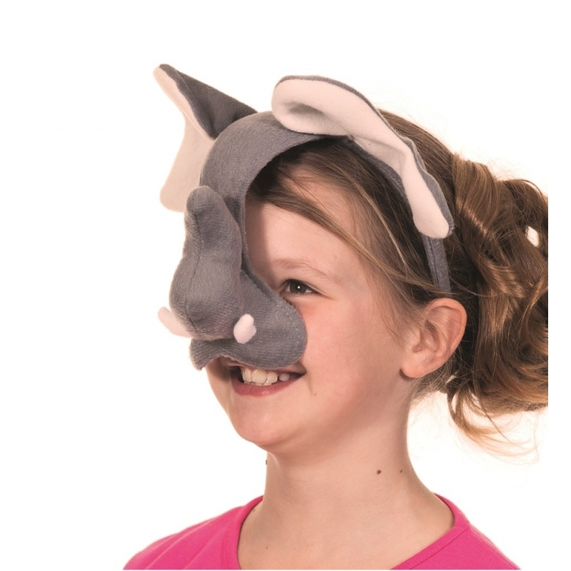 Olifanten masker met geluid