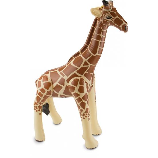 Opblaas giraffe 60 x 75 cm