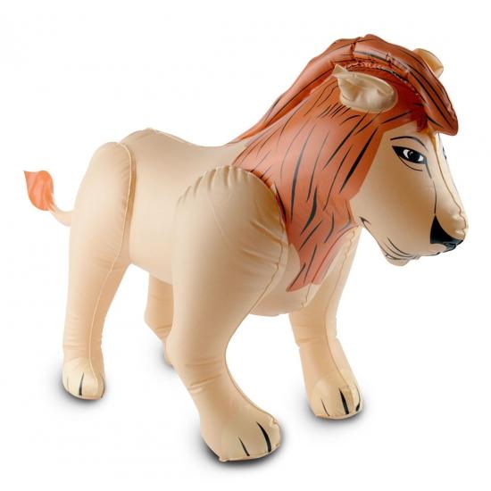 Opblaas leeuw 60 x 55 cm