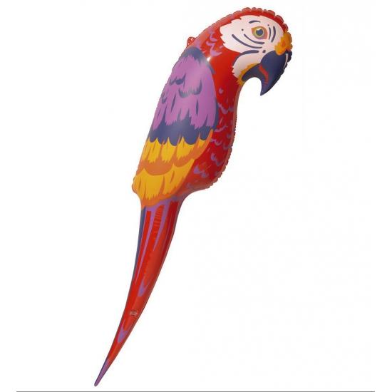 Opblaas papegaai 120 cm
