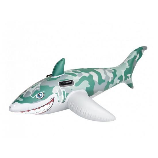 Opblaasbare witte haai 183 cm