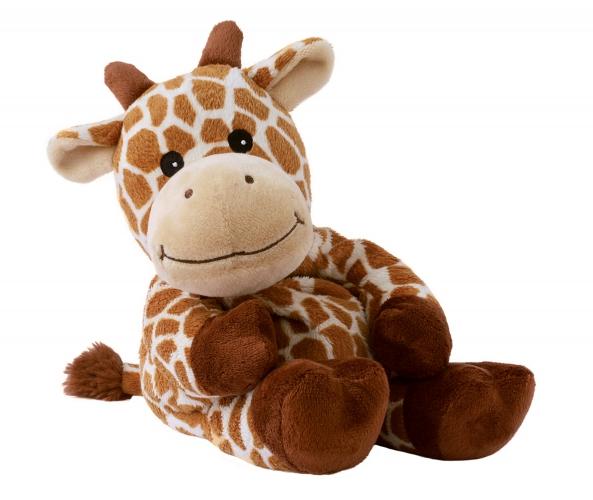 Opwarmbare knuffel giraffe