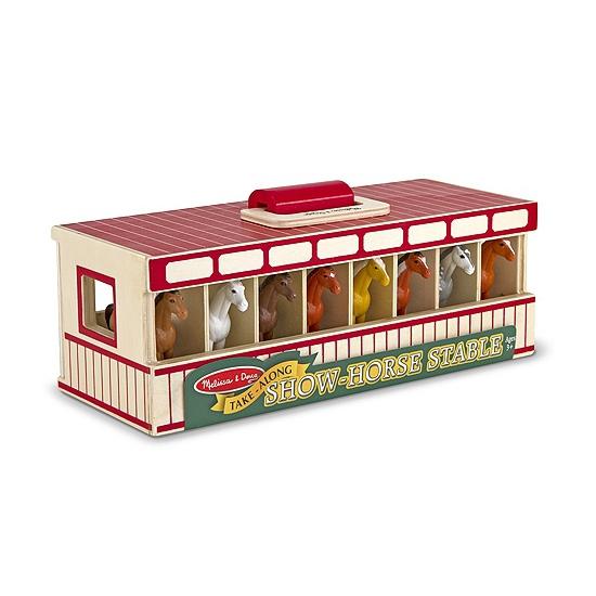 Paarden speelgoed show stal