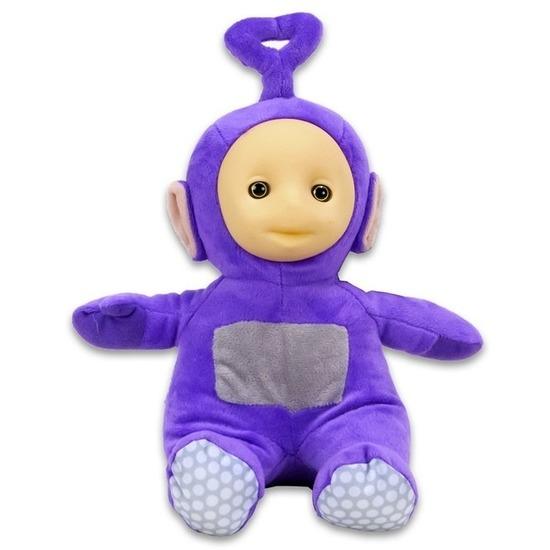 Paarse Teletubbie pop Tinky Winky 26 cm