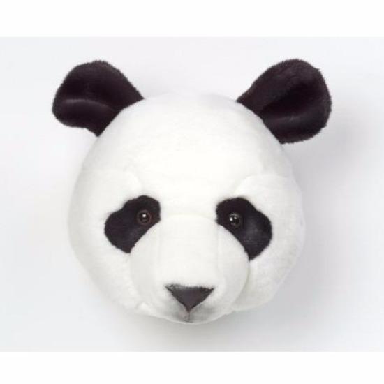 Pandaberenkop voor aan de muur