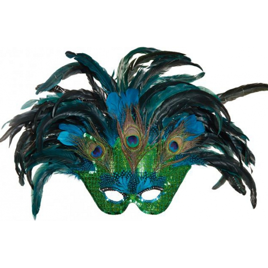 Paradijsvogel masker