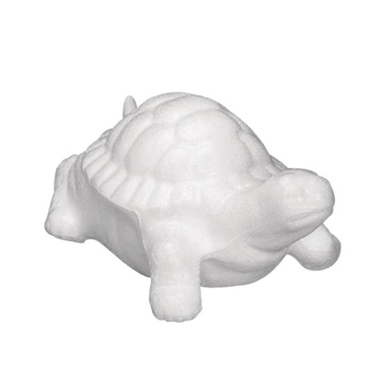 Piepschuim dieren schildpadden 12 cm