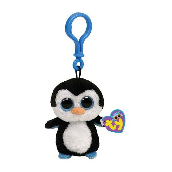 Pinguin Ty Beanie sleutelhanger 12 cm