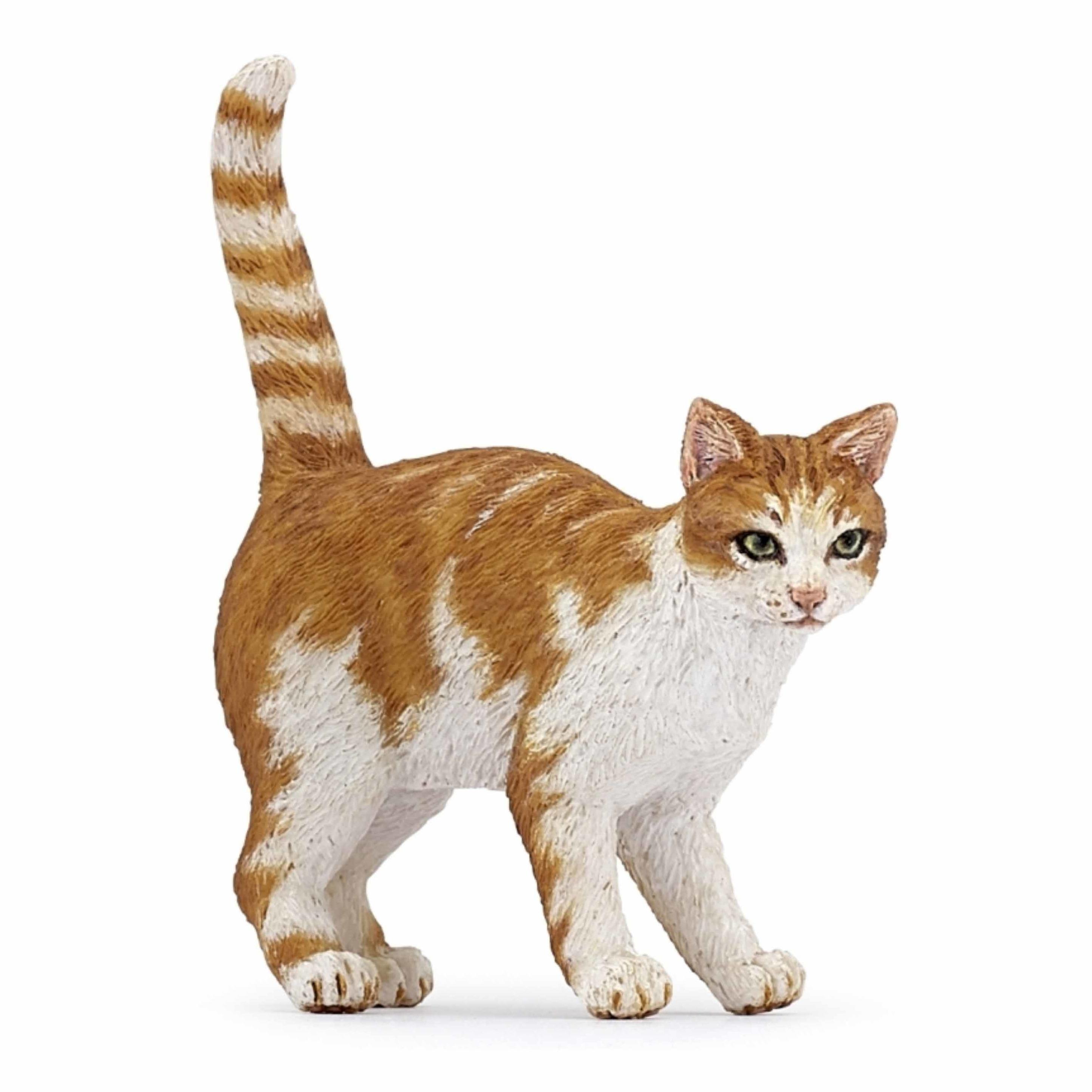 Plastic kat / poes speelgoed diertje 5 cm