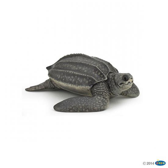 Afbeelding Plastic lederschildpad speeldiertje 9,5 cm door Animals Giftshop