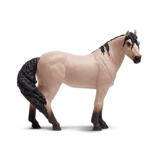 Plastic Mustang speelgoed paard 12 cm