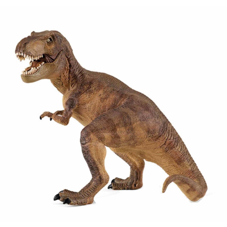 Plastic speelfiguur t-rex dinosaurus 17 cm