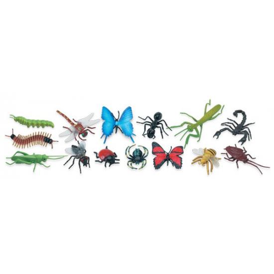 Afbeelding Plastic speelgoed insecten dieren 14 stuks door Animals Giftshop