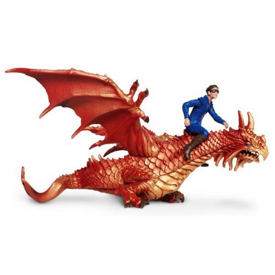 Plastic vliegende draken 19,5 cm