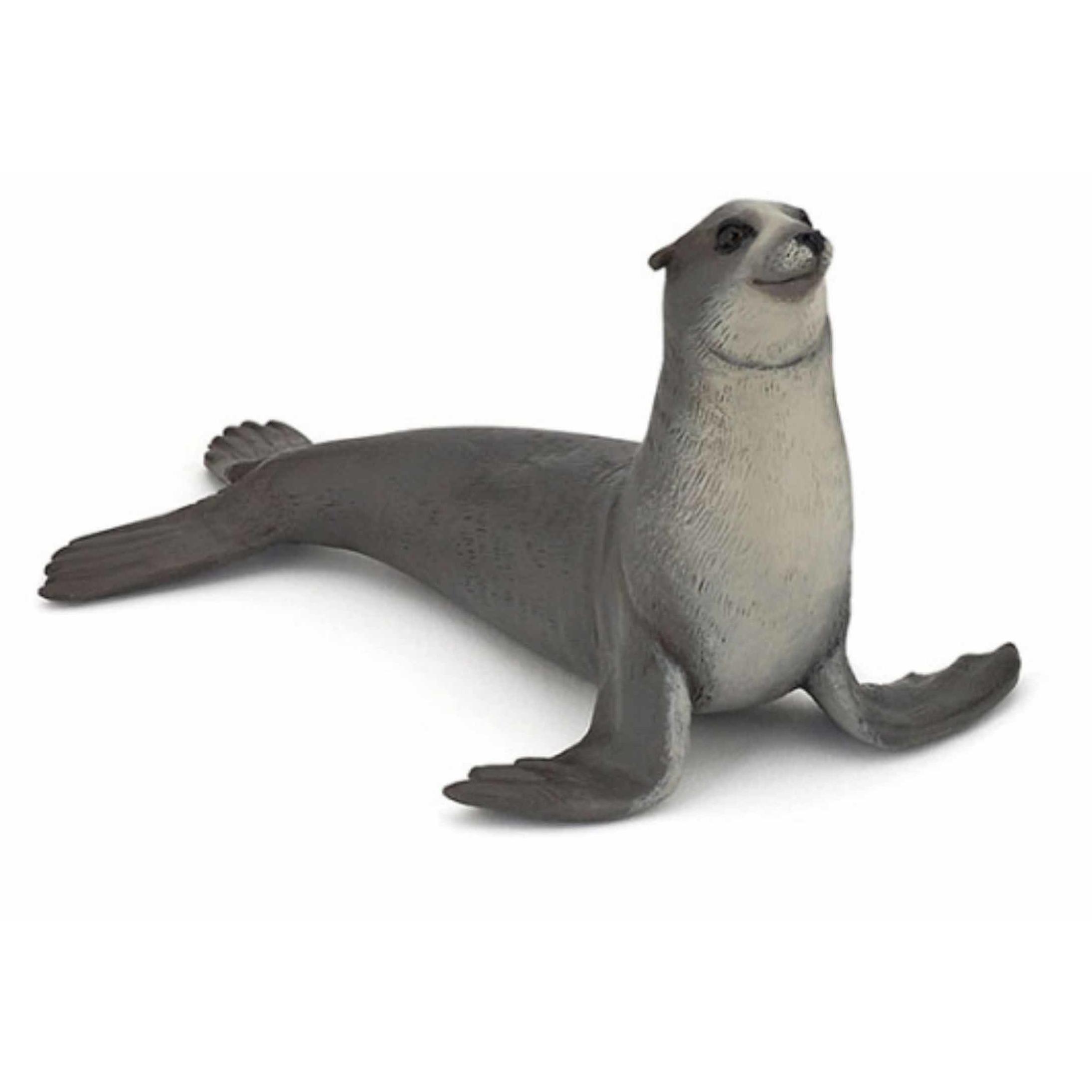 Plastic zeeleeuw speeldiertje 12 cm