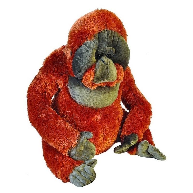 Pluche aap orang oetan grote dierenknuffel 55 cm