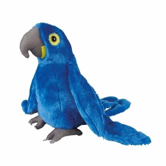 Pluche ara papegaai knuffels 30 cm