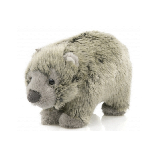 Pluche baby Wombat knuffeltje 15 cm