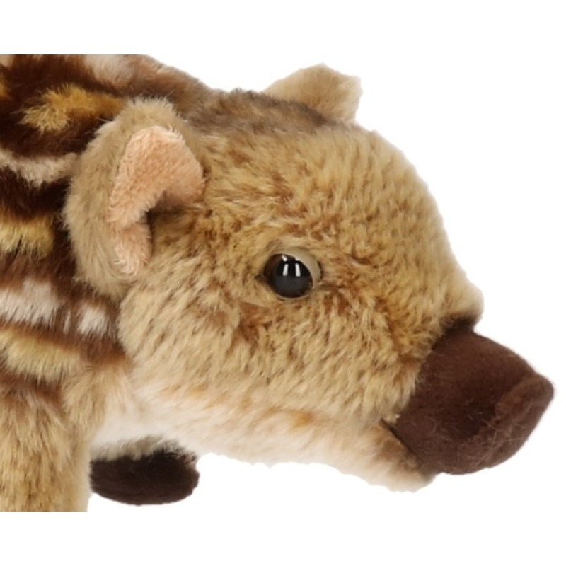 Pluche baby zwijn knuffel 22 cm