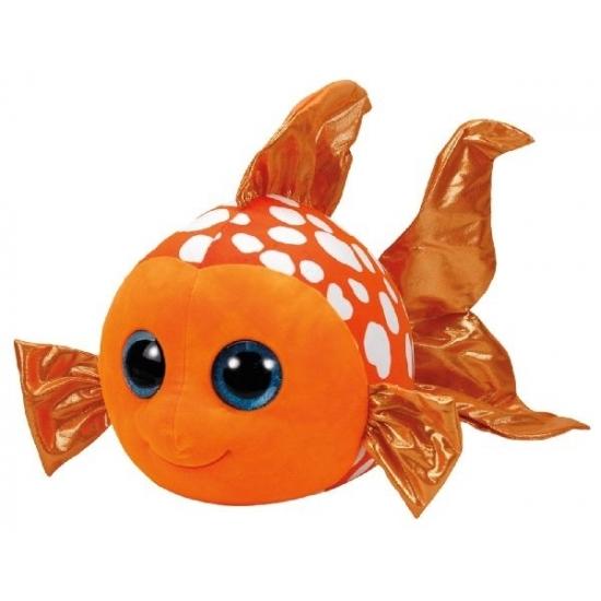 Pluche Beanie knuffel goudvis Sami