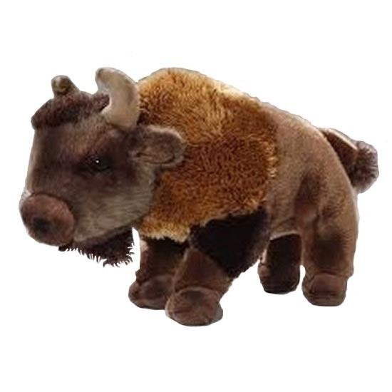 Pluche bizons knuffels 28 cm