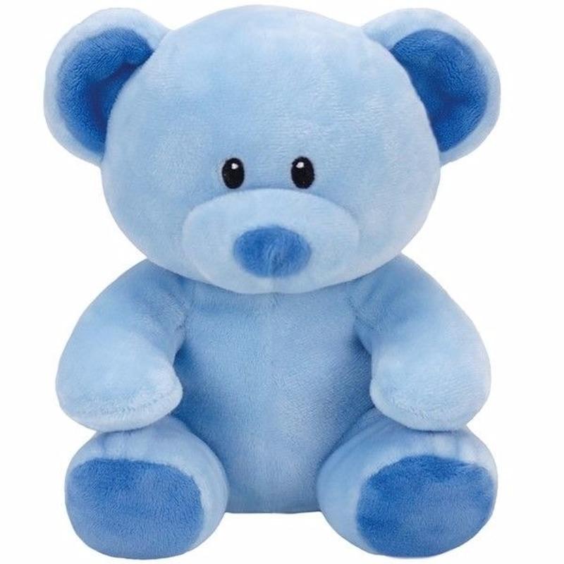 Pluche blauw knuffelbeertje Ty Beanie Baby Lullaby 24 cm
